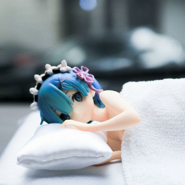 Re:Life 1/7 scale painted figure Sleep Sharing Ver. Rem